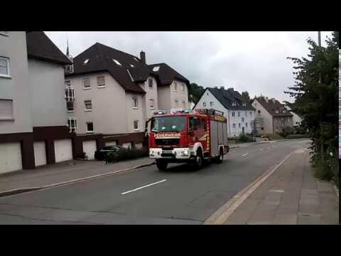 Alarmfahrt HLF der FF Ennepetal.