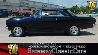 1965 Chevrolet Nova SS Stock #487 Gateway Classic Cars of Houston