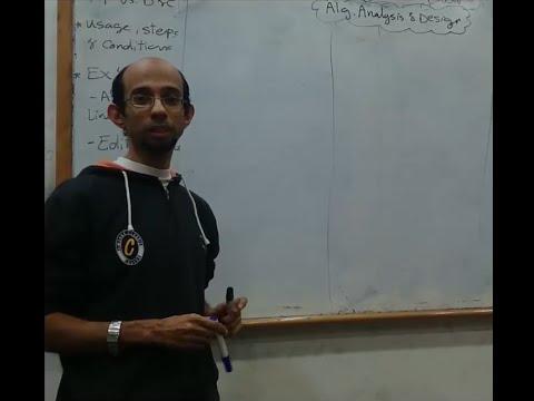 Algorithms analysis & Design - Dr.Ahmed Salah - Sec 5