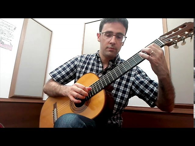 Intermediate Classical Guitar: Coste's Study No. 27 (Sor/Coste Method)