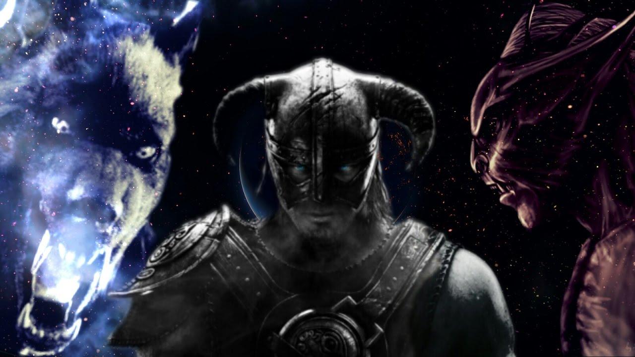 Skyrim Dawnguard - Werwolf Vampire Hybrid 2.0 - YouTube