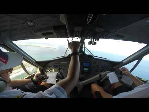 On Top Of The World - Twin Otter Flying, Maldives