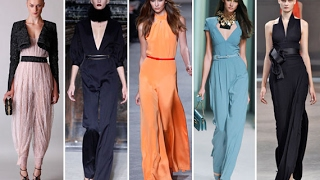 women jumpsuits fall winter 2017