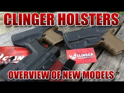 Clinger Holster Overview - Atom - Stingray - No Print Wonder