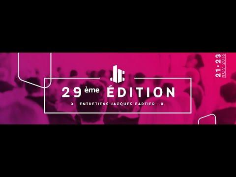 """Entretiens Jacques Cartier """"Lorsque l'entrepreneur s'engage dans la Cité. Le cas de Montréal"""""""