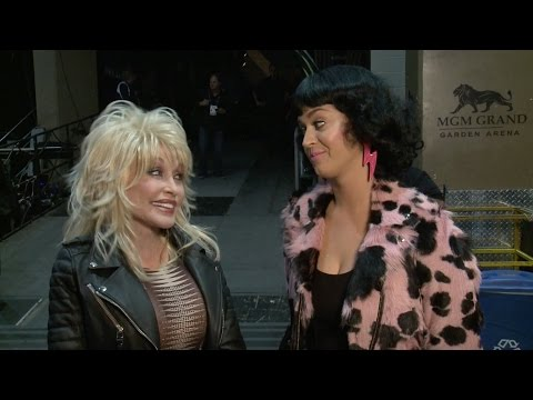 2016 ACM Awards: Dolly Parton & Katy Perry Rehearsals