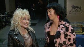2016 ACM Awards: Dolly Parton & Katy Perry Rehearsals