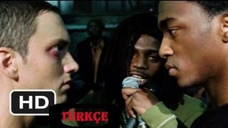 8 Mile Final Battle B-Rabbit & Papa Doc HD Türkçe