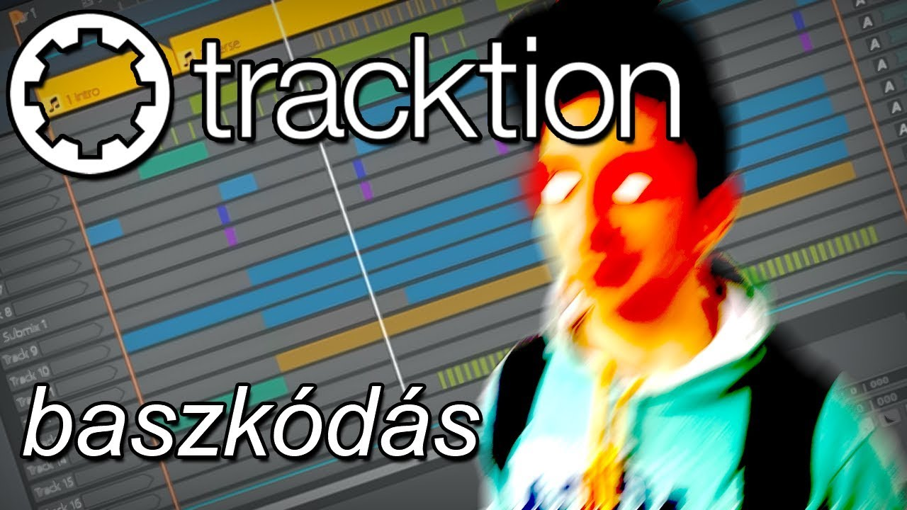 Tracktion 6 baszkódás - Trap Beat yo'!