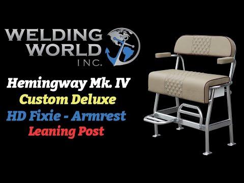Hemingway Offshore Duty Mk  IV Armrests