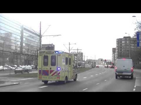 A1 ambulance 18-193 erasmus medisch centrum DOCTOR MOLEWATERPLEIN ROTTERDAM