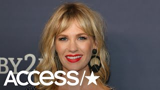 January Jones Says Being A Single Mom Limits Her Sex Life | Access