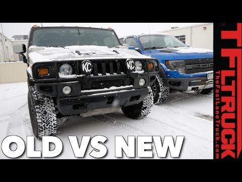 Hummer H2 vs Raptor vs Snowstorm: World's Most Hated Truck Ep.4