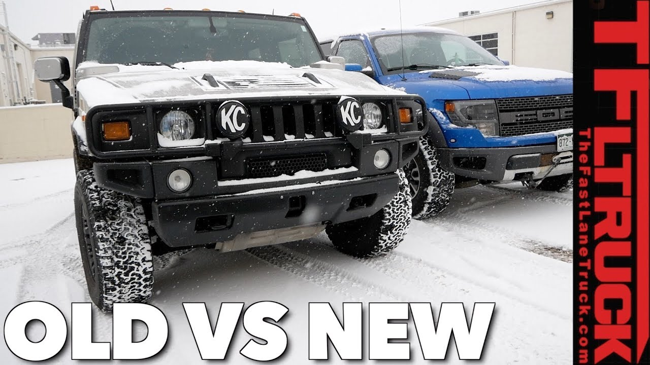 Hummer H2 vs Raptor vs Snowstorm: World\'s Most Hated Truck Ep.4 ...