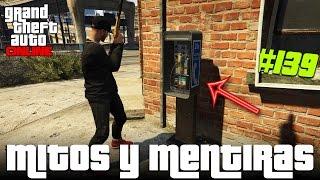 GTA V Mitos y Mentiras #139   Hicimos sonar el teléfono de la calle, PolisBlindados vs Normales...