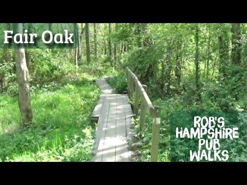 Fair Oak Lockdown  Pub Walk. (The Knowle Hill Loop) 2.5 Miles Approx