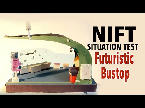 Futuristic Bustop  (NIFT- SITUATION TEST)