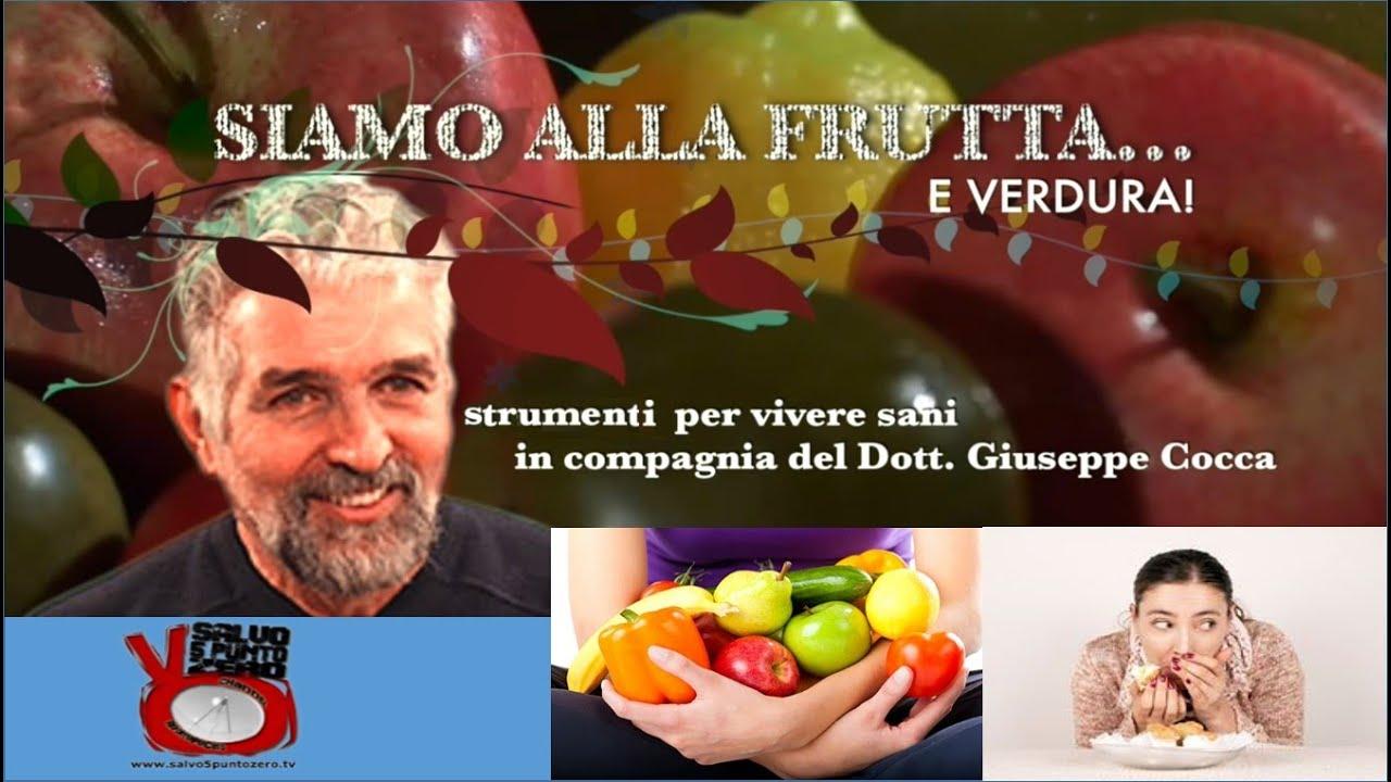 Alimentazione istintiva, emotiva e logica. Siamo alla frutta...e verdura con Giuseppe Cocca.