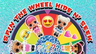 LOL Surprise Dolls Hide and Seek Game! Featuring Incredibles 2 Happy Meal, Slime, and Pikmi Pops!