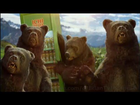 Iklan Ichi Ocha terbaru 2015 edisi Nyamar Jadi Beruang
