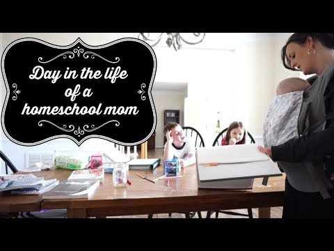 Day in the Life of a Homeschool Mom (March 8, 2018 Vlog)