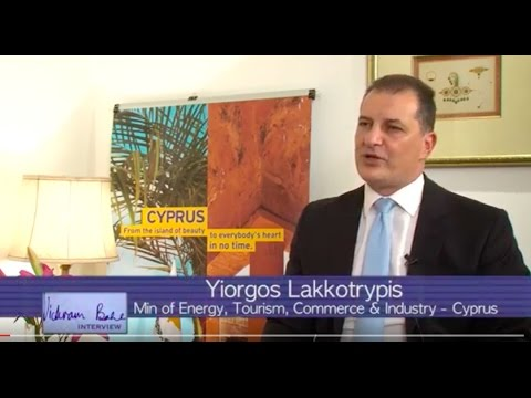 Yiorgos Lakkotrypis, Minister from Cyprus - Vickram Bahl interview