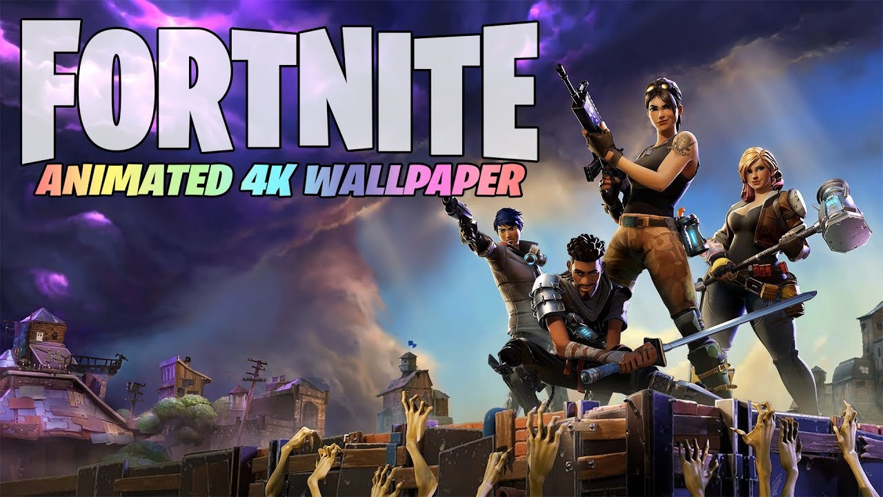 Animated 4k wallpaper forums - Fortnite save the world wallpaper ...