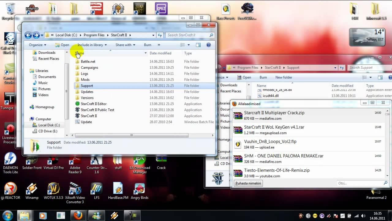 starcraft 2 free download cracked