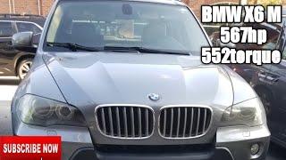 BMW X6 M 567hp  552torque