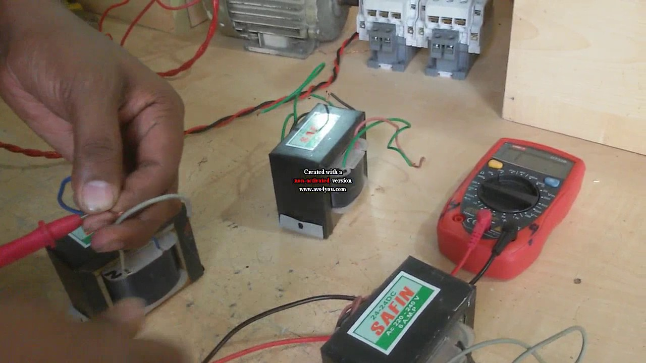 Three Phase Transformer Connection Star Single Vs Wiring Test
