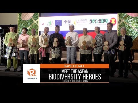 Rappler Talk: Meet the ASEAN Biodiversity Heroes