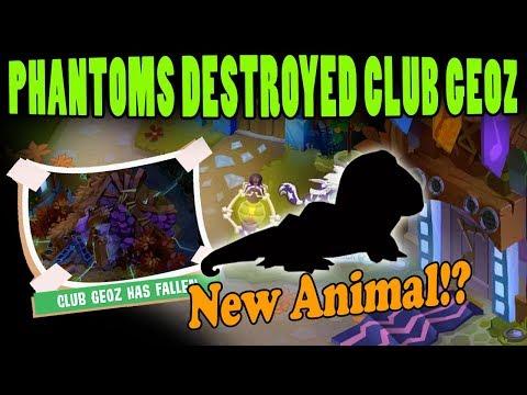 Phantoms Destroy Club Geoz + New Animal? Animal Jam Update Preview