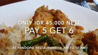 Breakfast Buffet Pendopo Restaurant Hotel NEO+ Kebayoran Jakarta