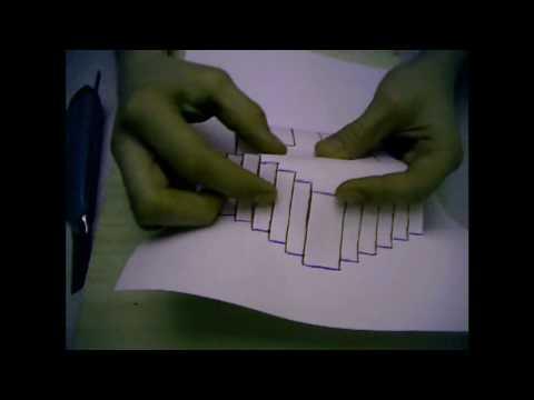 Kirigami Tutorial - House