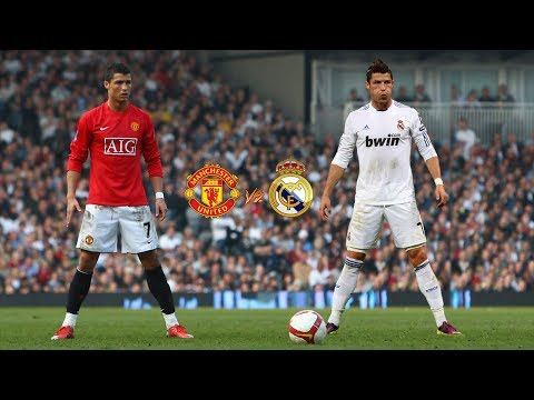 Cristiano Ronaldo Free Kicks - Real Madrid vs Manchester United