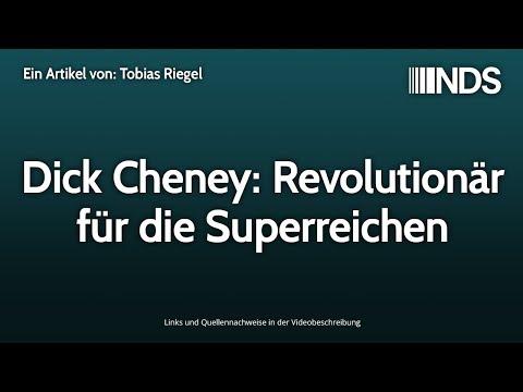 Dick Cheney: Revolutionär für die Superreichen | Tobias Riegel | NachDenkSeiten-Podcast