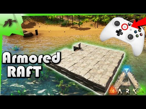 HOW TO LOWER and EXTEND foundation on a RAFT- NEW SNAP POINT CYCLING- Ark Survival Evolved Xbox One