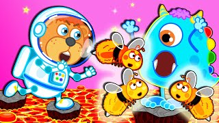 I Wanna Be An Astronaut! Space Adventures #11 🧑‍🚀 Lion Family | Cartoon for Kids