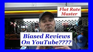 Biased Reviews On YouTube????