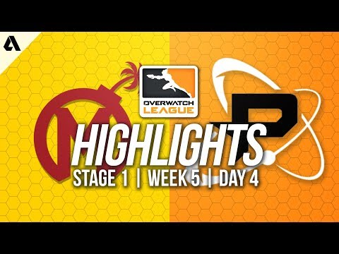 Philadelphia Fusion vs Florida Mayhem | Overwatch League Highlights OWL Week 5 Day 4