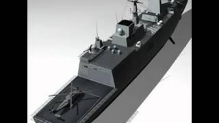 3D Model of FREMM Multipurpose Frigate