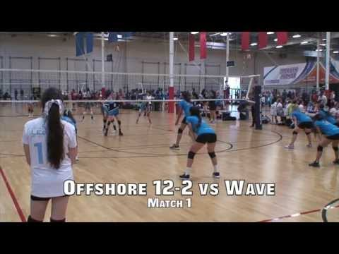 Offshore Volleyball 12-2 vs Wave 11 (Match1) 4/26/15 (L)