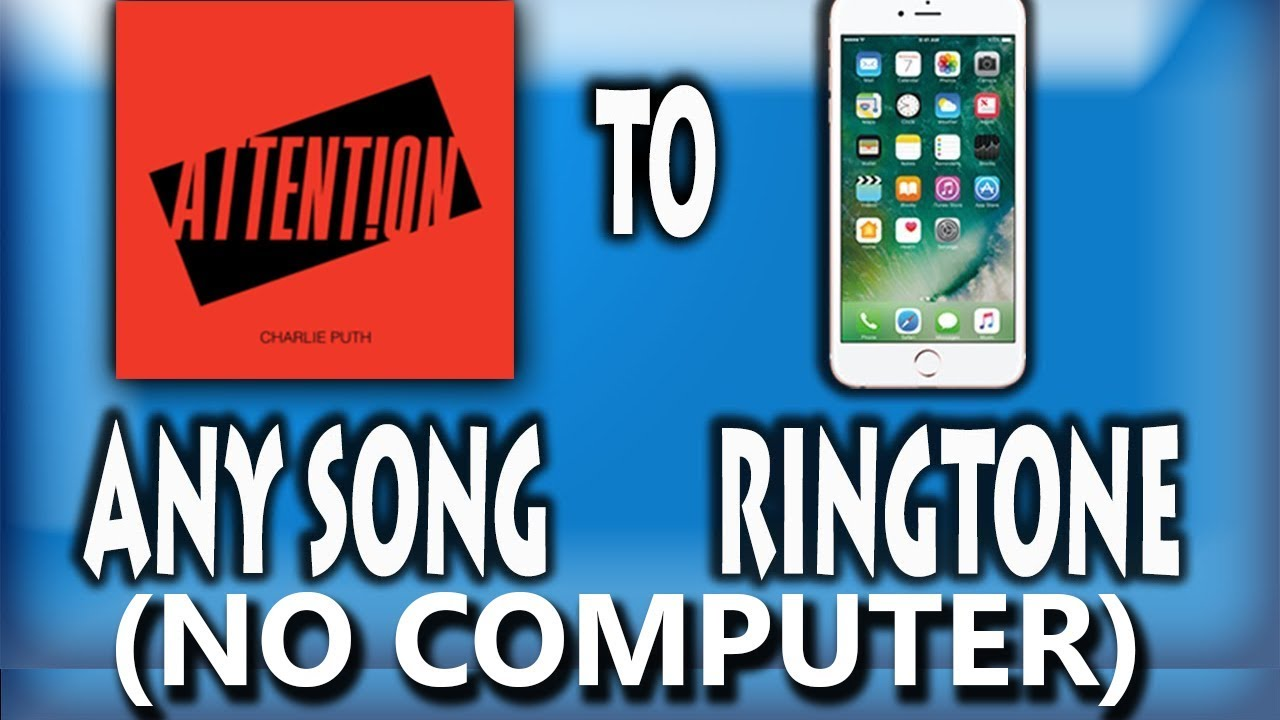 how to add song as ringtone on iphone