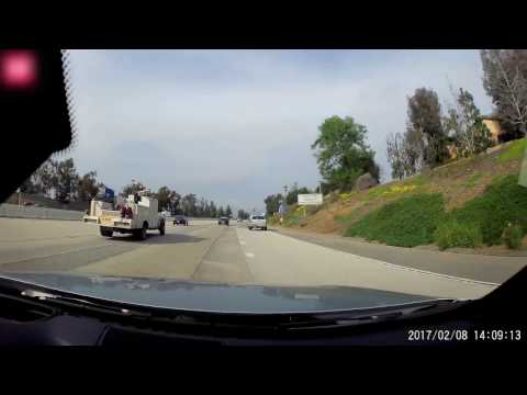 CHP Dodge Charger in action