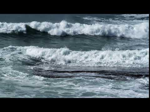 Видеофон. Футаж. Волны. Прибой. Море.
