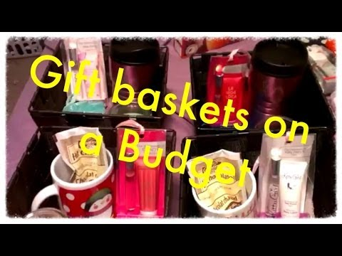 Gift Basket Ideas For Women On A Budget Youtube
