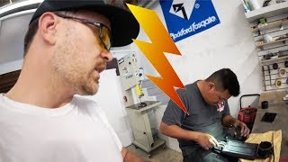 We installed an iPad AND THEN THIS HAPPENED... - Shop Improvement episode 13 of 14