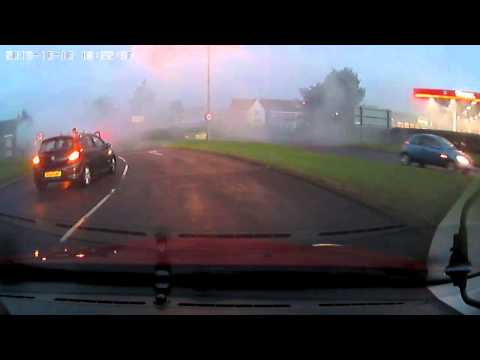 Ford Focus Turbo Diesel Engine Runaway - Epic Diesel Engine Failure
