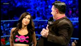CM Punk, Daniel Bryan, AJ Lee & Michael Cole - SmackDown 3/7/2012