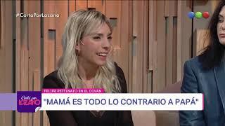 Tamara y Felipe Pettinato en el diván de Vero - Cortá por Lozano 2018